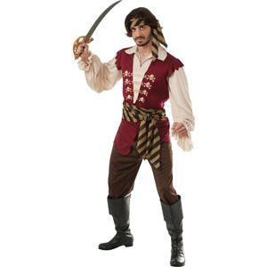 Pirate Adult Halloween Costume. Good enough...plus hat & wig.