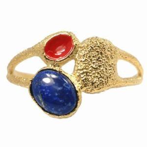 Gemstone Cuff Bracelet Stone: Lapis $76.93 by Wayfair