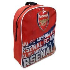 Official Licensed Football Club Arsenal Junior Backpack New Design Red School