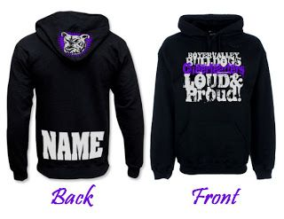 hoodie design ideas all participant names are printed on the back of shirt cheer coachs blog - Hoodie Design Ideas
