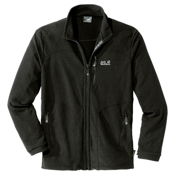 Lightweight fleece jacket with a small pack size and system zip ...
