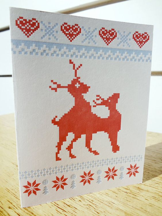 15 of the funniest christmas cards zero fruitcake jokes for Funny reindeer christmas cards