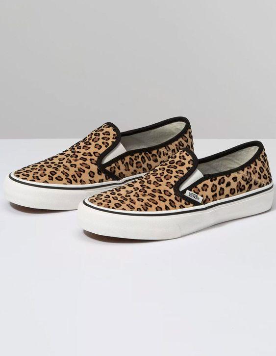 Leopard Vans   Leopard print vans