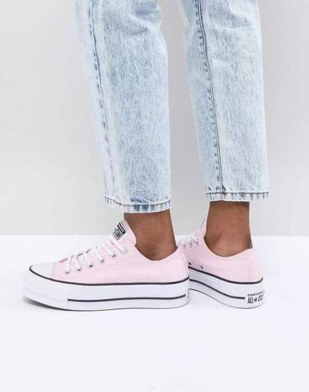 Sneakers Platform Outfit All Star 19 Ideas   Sneakers, Platform ...