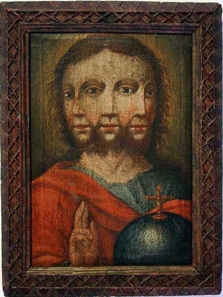 Неизвестный немецкий художник начала 17 века. Холст, масло, 35,5×26 см. Тирольский музей народного искусства. Инсбрук, Австрия: