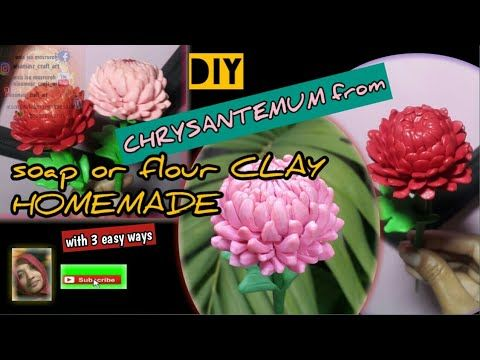 Pin Di Flower Clay Homemade