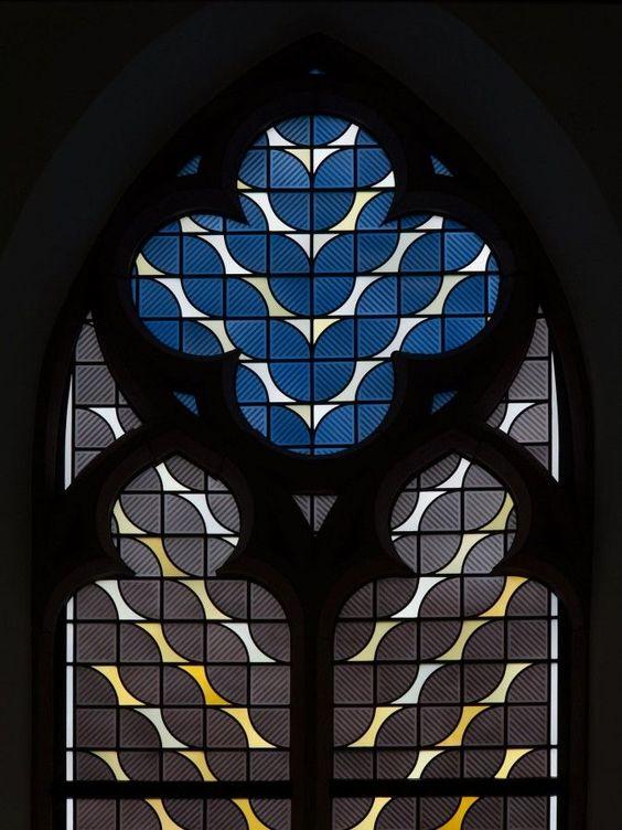 Jochem Poensgen - beautiful stained glass window