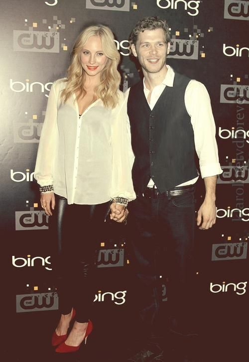 Images of caroline and klaus dating in real life