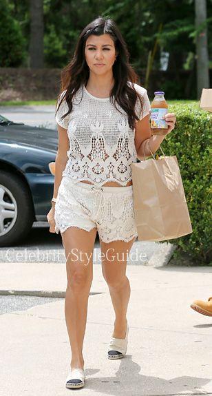 Seen on Celebrity Style Guide: Kourtney Kardashian wore ...