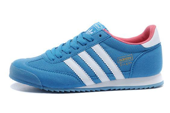 Women's casual blue shoes