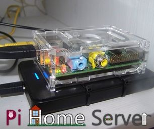 Create your the ultimate home server with a Raspberry Pi!