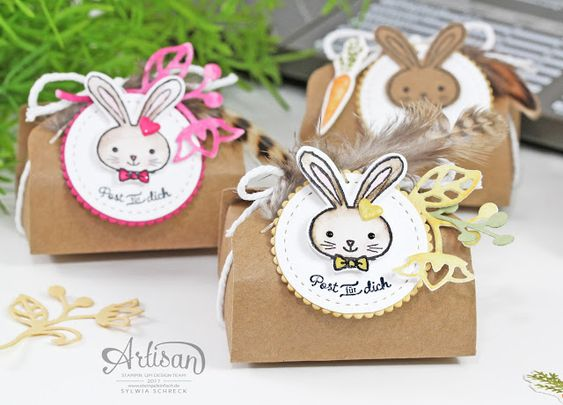 Verpackung Ostern Stampin Up - Hasenpost: