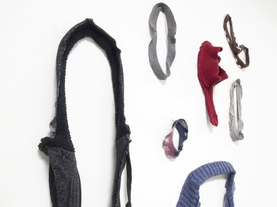 "Jina Seo - The fragments of ordinary clothes convey a tactile and erotic interaction,  emphasizing the physical movements between certain parts of body and  garments.""  — Jina Seo:"
