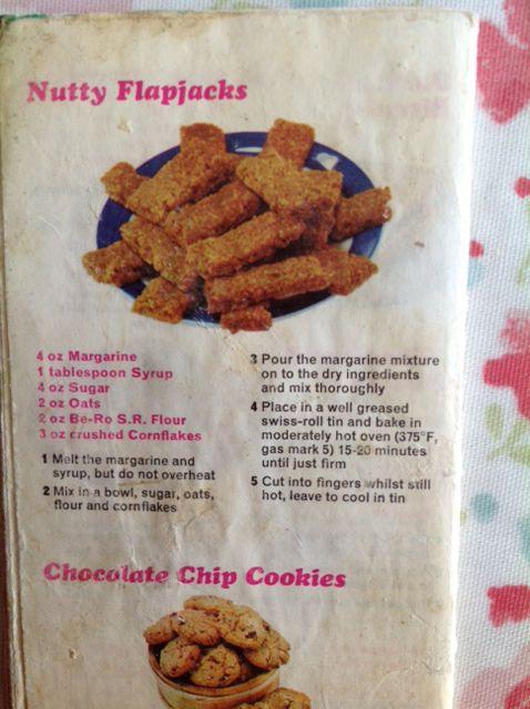 Flapjack cakes recipe