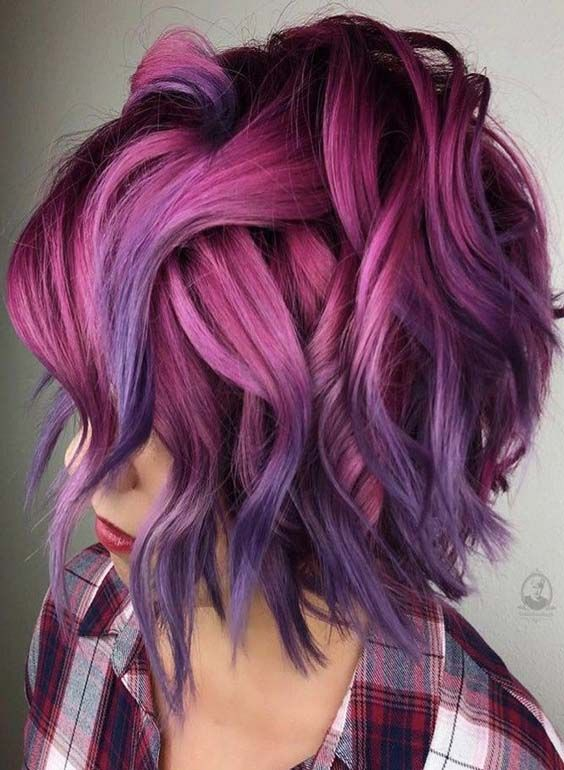 Account Suspended Short Hair Color Hair Color Pink Cool Hair Color