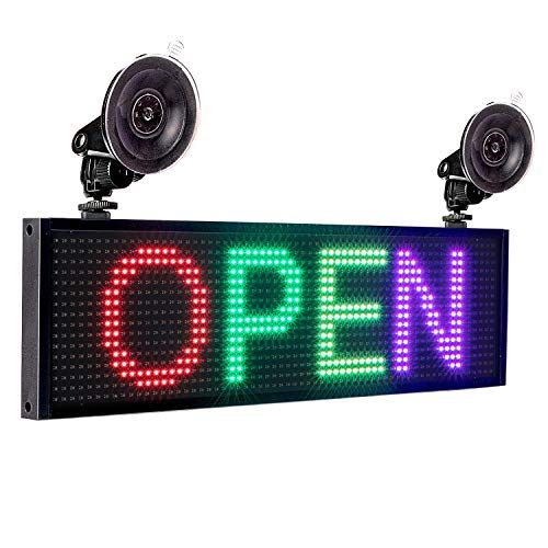 Leadleds P5 Rgb Full Color Led Sign Message Board Wifi Co Https Www Amazon Com Dp B07jlvshkz Ref Cm Sw R Pi Dp U X Znq2cb Led Signs Led Color Wifi Connect