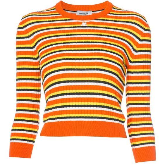 COURRÈGES COURRÈGES - STRIPED SWEATER . #courrèges #cloth ...
