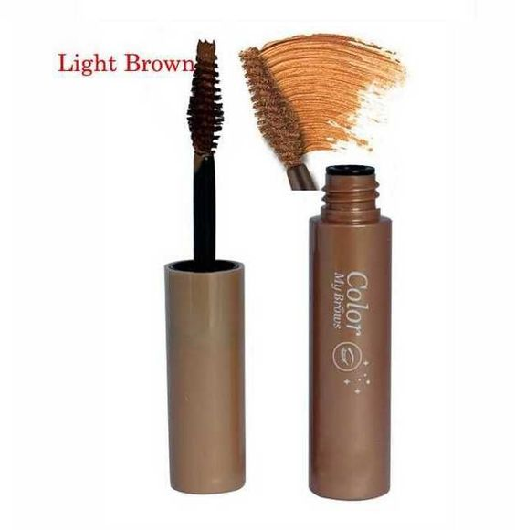 3colors 3d Fiber Eyebrow Gel Tint Mascara Cream Paint Eye Brow