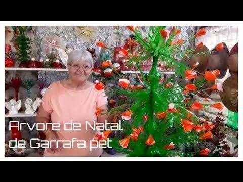 Arvore De Natal De Garrafa Pet Vo Neide E Suas Pet Garrafas
