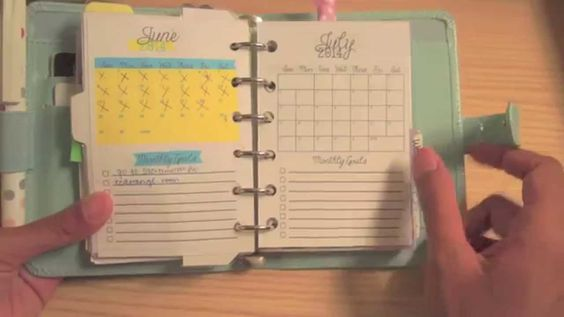 """""""Filofax Pocket Patent Duck Egg Setup"""" Some great ideas in this. Definitely going to use some of them."""
