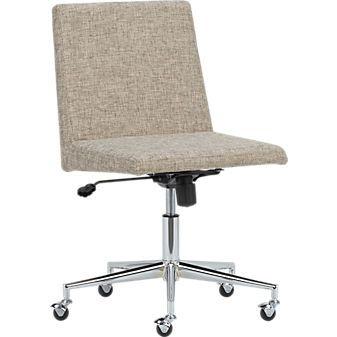jones natural office chair cb2