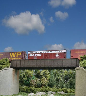 70' Single-Track Railroad Through Girder Bridge