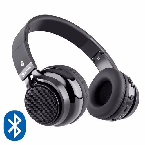 Steren Bluetooth Over-The-Ear Headphone/Speaker with External Speakers Included