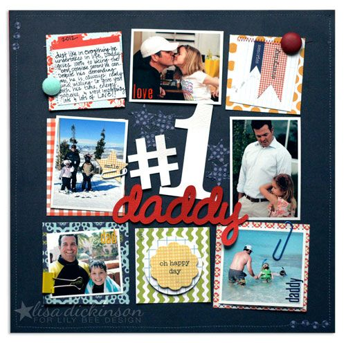 #1 Daddy{Lily Bee Design} - Scrapbook.com