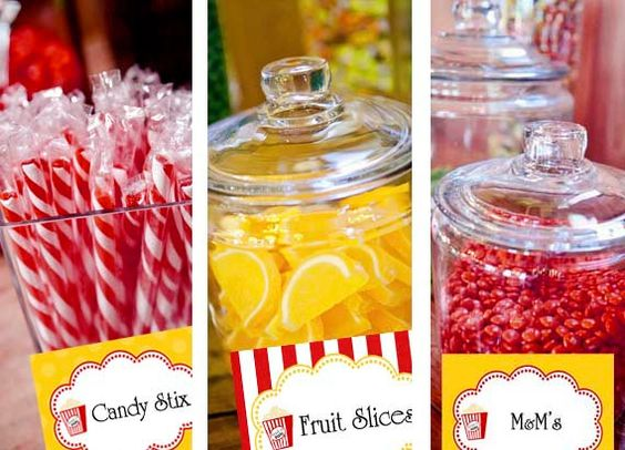 Printable Buffet Labels Candy  Ready to Pop by StickToYourStory,
