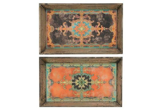 Asst. of 2 Moroccan Trays
