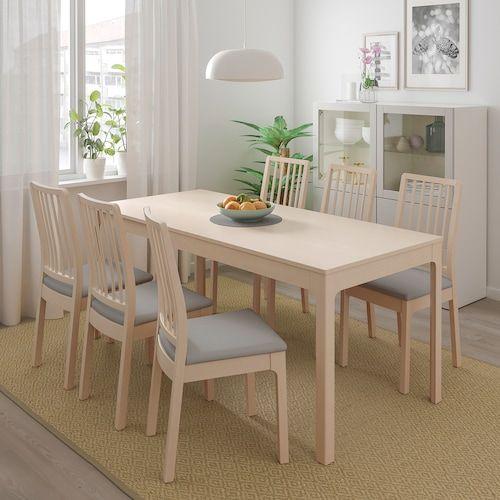 IKEAの伸縮式ダイニングテーブル「EKEDALEN」がシンプルおしゃれで便利