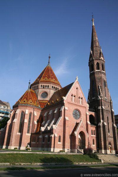 Beautiful church in Budapest