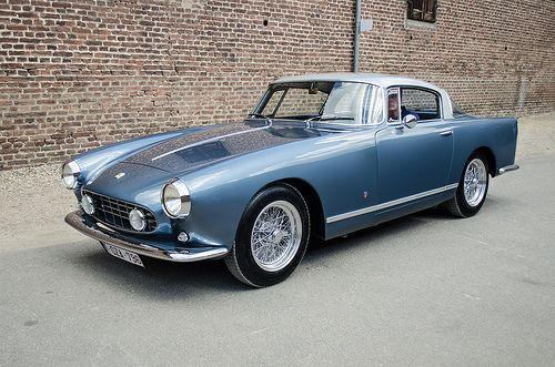 Ferrari 250 GT Boano Coupe 1956 Maintenance/restoration of old/vintage vehicles: the material for new cogs/casters/gears/pads could be cast polyamide which I (Cast polyamide) can produce. My contact: tatjana.alic@windowslive.com