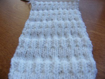 12 row repeat  http://impeccableknits.wordpress.com/2009/01/25/man-scarf-5-fence-rows-scarf-free-pattern/