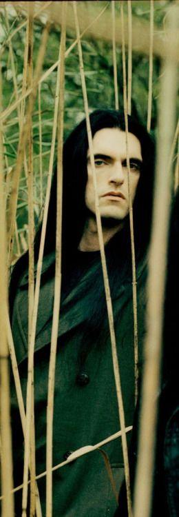 hollowhillsblog:  green man. Peter Steele