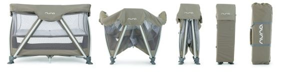Enter to win a @Nuna USA Sena travel cot in your choice of color! #babygear #contest #giveaway #win