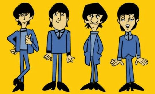 Pin De The Beatles Por Elizabeth En The Beatles Cartoon Tatuajes De Los Beatles Arte De Los Beatles Programas De Dibujos Animados
