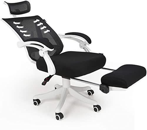 The Hbada Reclining Office Desk Chair Adjustable High Back