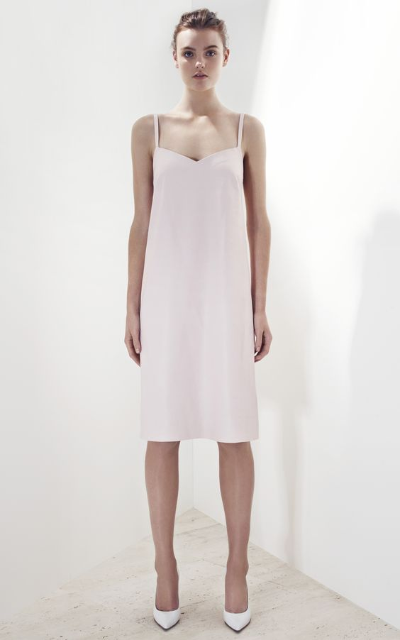 Bassike Leather Mini Dress - Moda Operandi