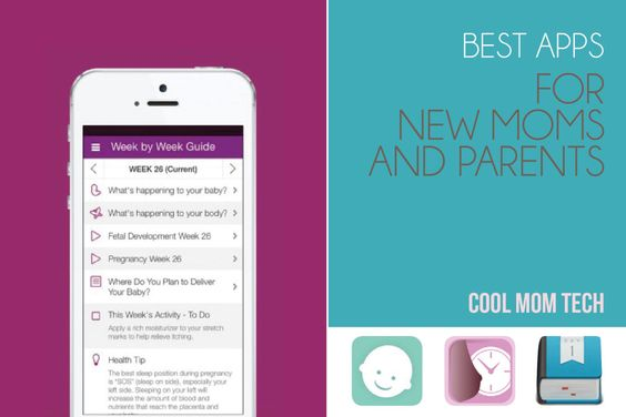 10 of the very best must-have apps for new moms (and dads!), most of them free