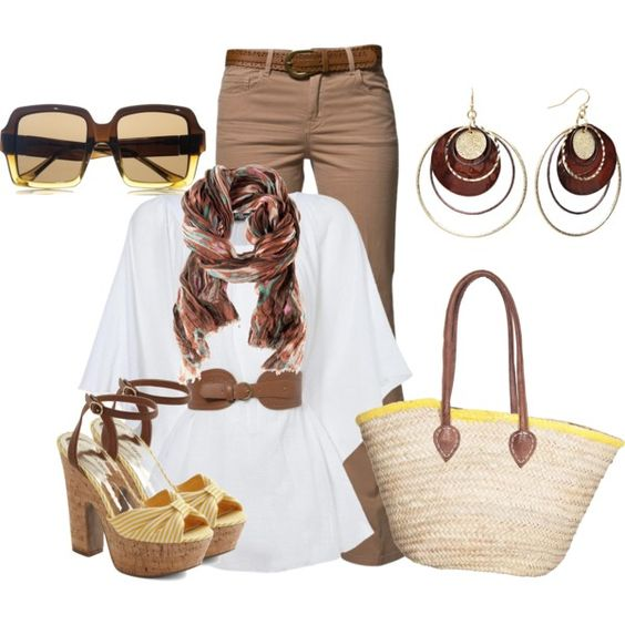 Travel Clothing, created by beautyranker on Polyvore