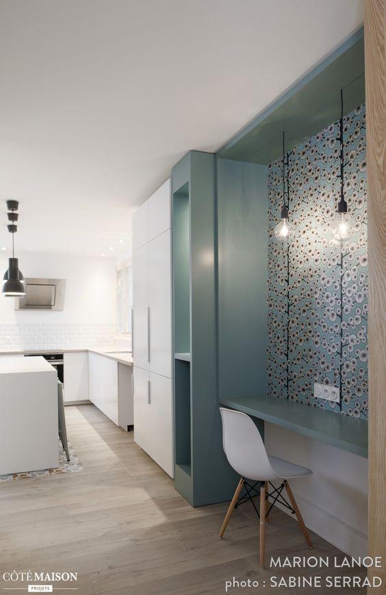 Rénovation du0027un appartement à la Croix Rousse, Marion Lanoë - Côté - exemple de maison moderne