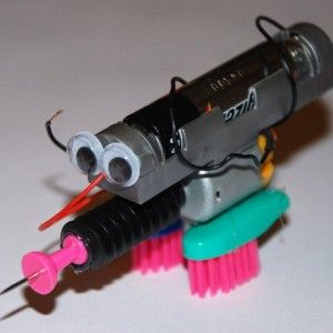 One for the budding scientist.. make your own mini robots!