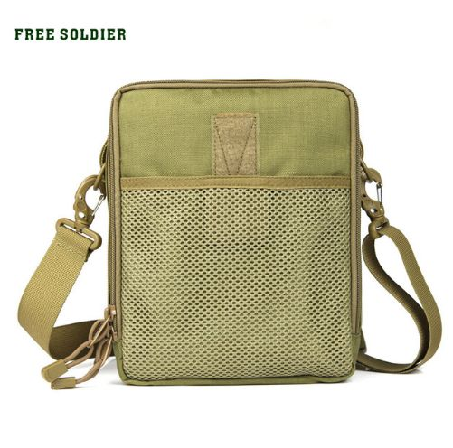 FREE SOLDIER Camping Hiking EDC Tactical casual single shoulder bag Material sanity