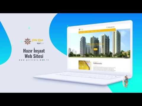Hazir Insaat Web Sitesi Web Sitesi Videolar