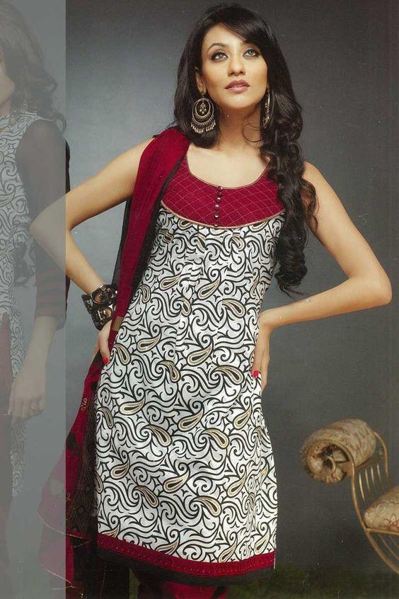 kameez neck design - Google Search | punjabi suit designs ...