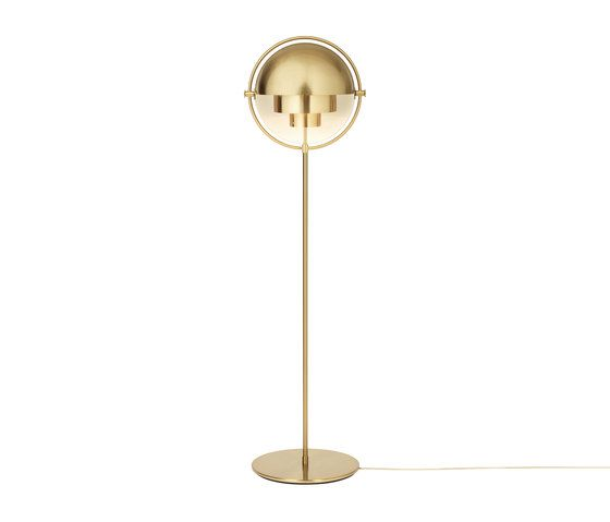 Multi Lite Floor Lamp All Brass By Gubi Free Standing Lights