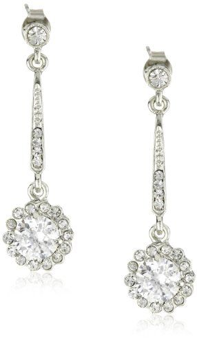 Nina Bridal Rachelle Vintage Inspired Drop Earrings