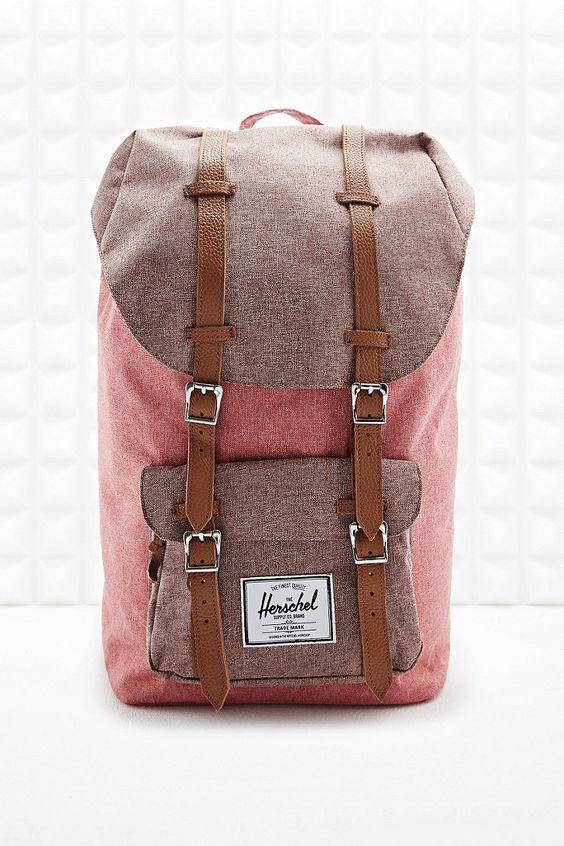 Herschel Little America Backpack in Red