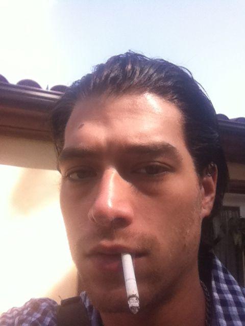 Smoking celebrities |  Xander Corvus
